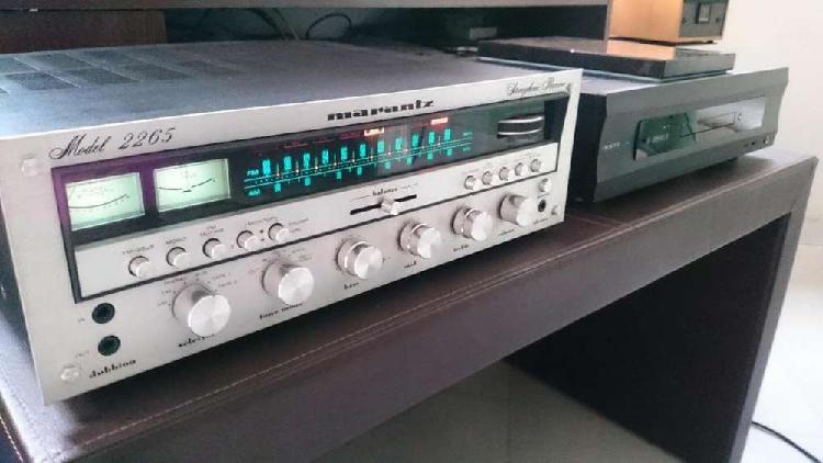 Sinto Amplificador Marantz 2265