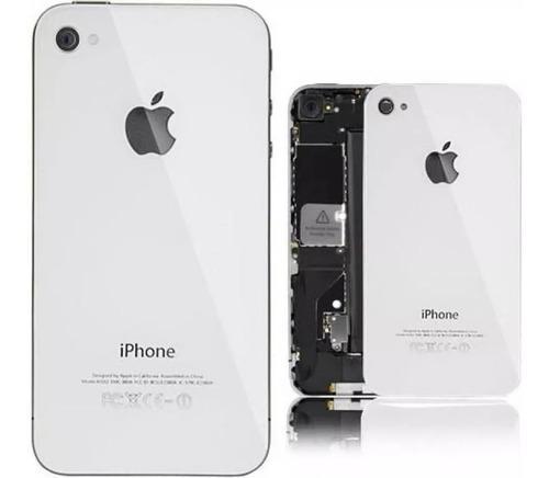 Tapa Trasera iPhone 4 Y 4s Blanca Y Negra Consultar Color