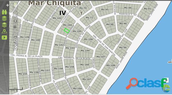405 Mts2 a 200 mts del Mar, Zona Residencial