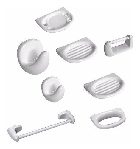 Accesorios Para Baño Set 8 Piezas C Toallero Barral