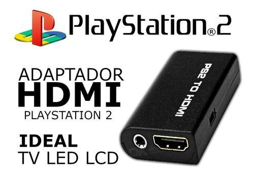 Adaptador Puerto Hdmi Para Playstation 2 Directo A Lcd Led