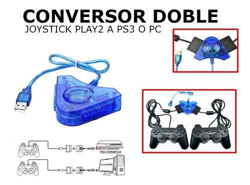 Conversor Doble Joystick De Ps2 A Usb Pc Ps3
