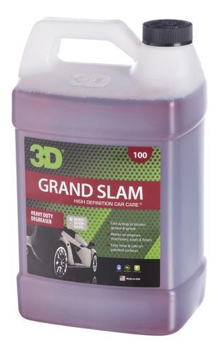Grand Slam 3d - 4 Litros Desengrasante 3d