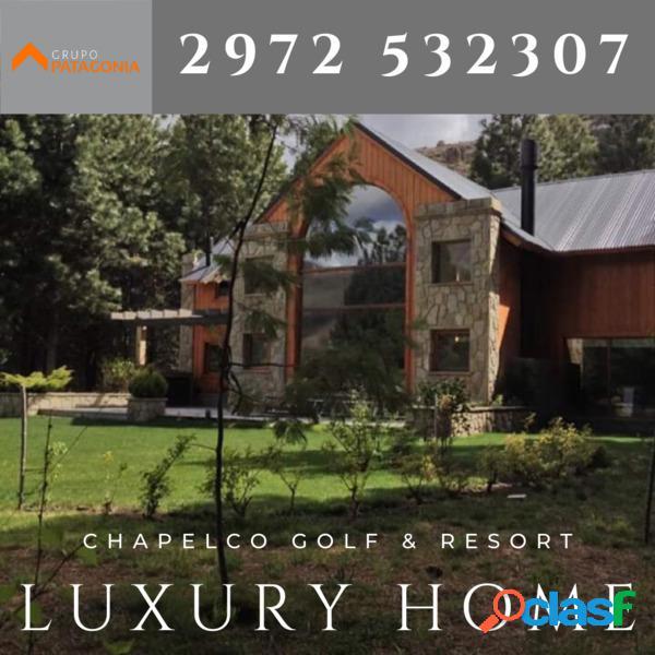 Hermosa Casa en VENTA en el Chapelco Golg & Resort de San