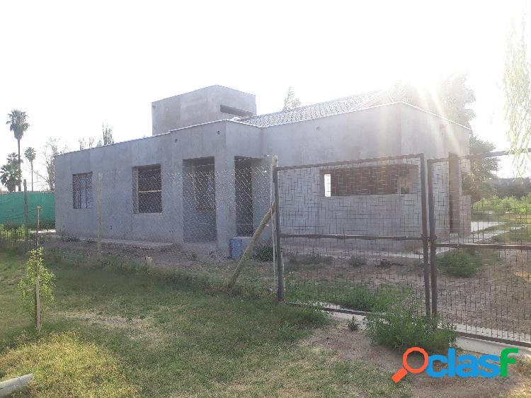 Hermosa casa en Obra gruesa en Barrio Privado Guaymallen