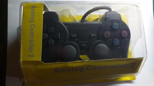 Joystick Ps2 Con Cable Vibracion Analogico