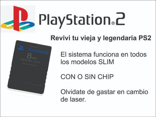 Memory Card 64mb Ps2 - Revivi Tu Legendaria Ps2.juga Por Usb