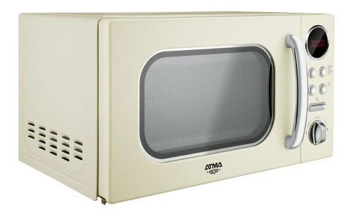 Microondas Digital Atma Md1820vn 20 Litros Vintage 700w 12c