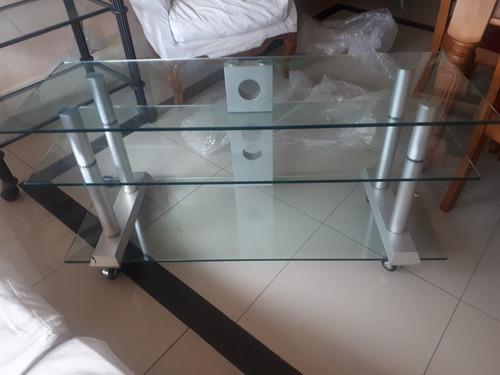 Oferta!!mesa De Vidrio Templado Para Lcd...tv..plasma