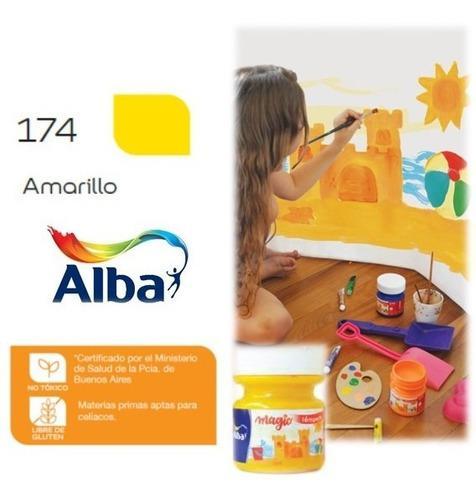 Albamagic 5743 Témpera Alba Magic X 275 G - Amarillo