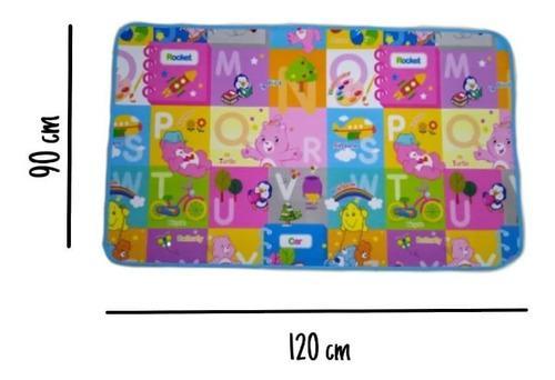 Alfombra De Juegos Para Bebes Y Niños Impermeable 120 X 90