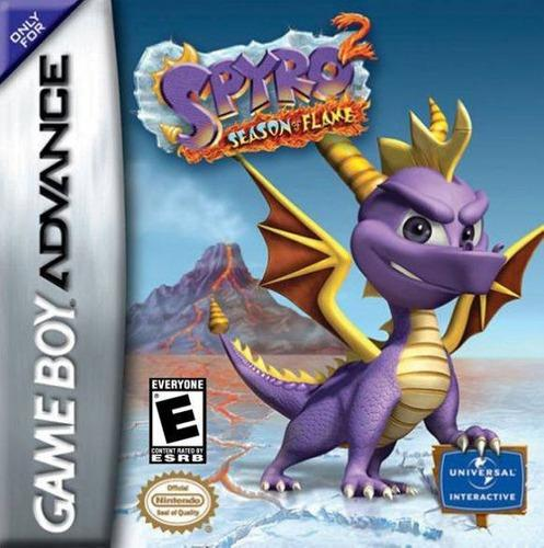 Spyro 2 Season Of The Flame Gameboy Advance Original Gba
