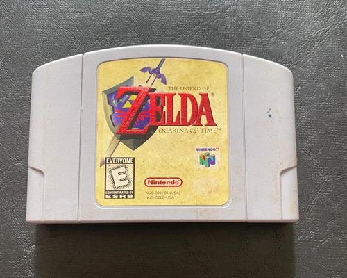 The Legend Of Zelda Ocarina Of Time De Nintendo N64 Original