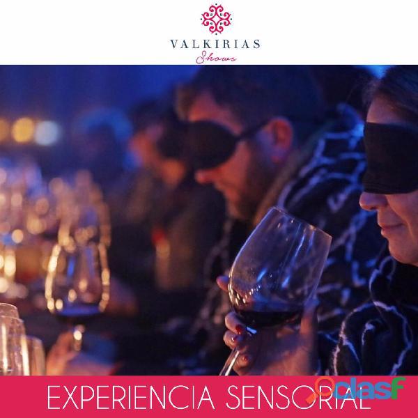 EXPERIENCIA SENSORIAL para Eventos By Valkirias Shows