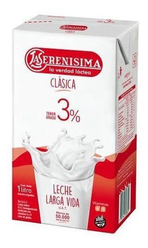 Leche Larga Vida Entera La Serenísima X 1 Lts