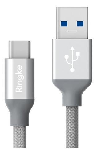 Cable Irrompible Ringketipo C Usb 3.1 Carga Rapida 1.20 Mts