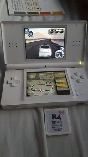 Nintendo Ds Lite Completa, En Caja Original, Impecable.
