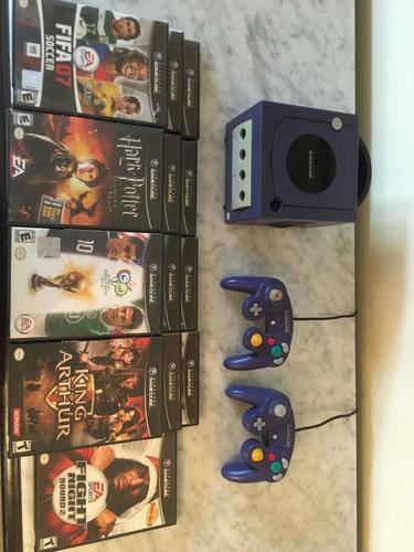 Nintendo Gamecube + 3 Controles + 14 Juegos Originales
