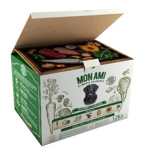 2 Cajas Mon Ami Ad. Med & Lar. X 12 Kg C/u + 3 Kg Regalo!