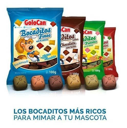 Bocadito Golosina Golocan X 10 Unidades De 80/100/120grs C/u