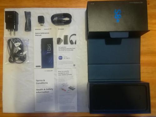 Caja Completa De Accesorios Galaxy S8 + Sin Uso - Samsung