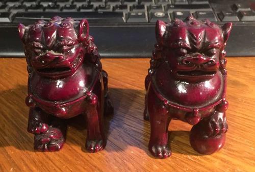 Par Perros Foo (fu), Dragones, Feng Shui X Dinero Y Trabajo