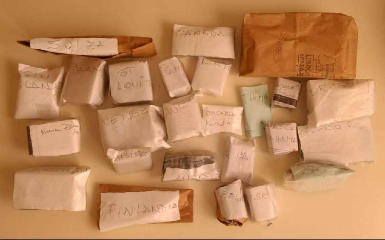 Coleccion de cajas y cajitas de fosforo de varios paises