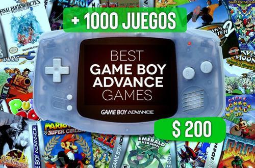 Emulador Gameboy Advance (gba) +1000 Juegos ! Pc 64 Bits