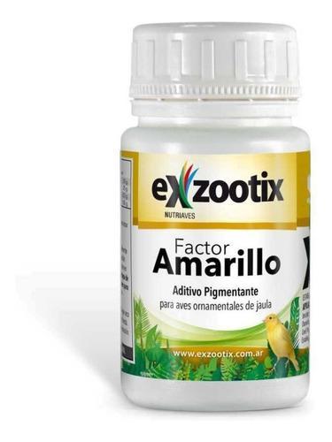 Factor Amarillo Exzootix Para Aves De Jaula Envios