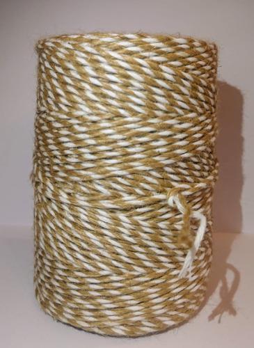 Hilo De Yute/algodón En Bob De 500gr /artesanías Y Macrame