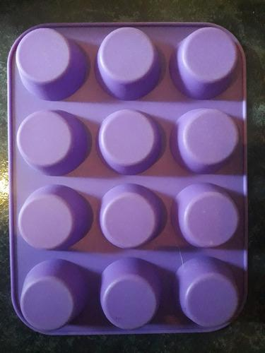 Molde Silicona Muffins X12 Unidades P/ Jabones O