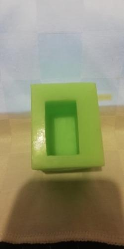 Molde Silicona Rectangulo 4x2 P/artesania-reposteria