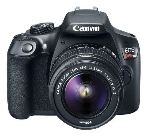 Camara Reflex Canon Rebel T6 + Lente 18-55 Mm Y 70-300 Mm