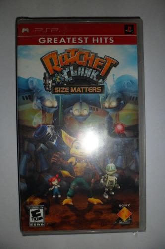 Juego De Psp - Ratchet And Clank - Size Matters Nvo Sellado