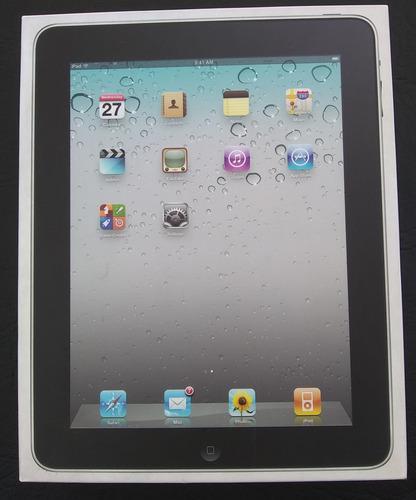 Caja Vacia iPad 1 (solo La Caja, Sin Accesorios Ni Manuales)