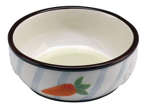 Comedero Bebedero Para Conejos De Ceramica Ferplast Rabbit