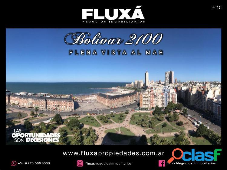 Departamento Bolivar 2100 con Vista al Mar Totalmente