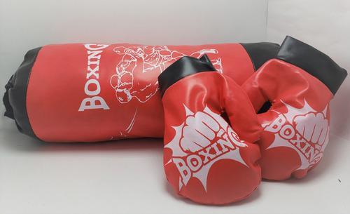 Juego De Boxeo Infanitl Bolsa De Box Para Niños