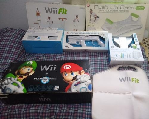 Nintendo Wii Black Chipeada+wii Fit+juegos+accesorios