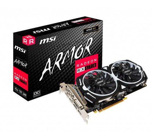 Placa De Video Amd Radeon Rx 570 4gb Ddr5 - Dixit Pc