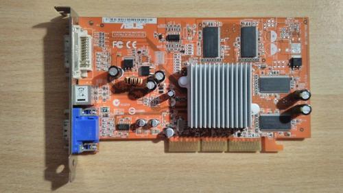 Placa De Video Asus Ati Radeon 9250ge Agp 8x 256mb