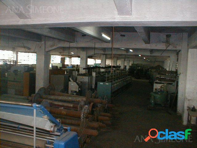 Planta Industrial de 4.350m2 en 3 plantas con excelente
