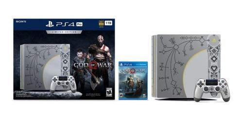 Sony Ps4 Pro 1tb 4k Hdr God Of War Edition + 2 Controles