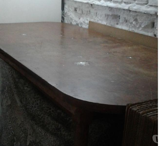 mesa de madera varios usos de 1,70 cm largox 0,90 ancho