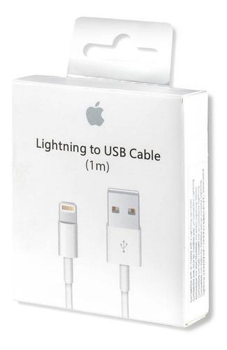 Cable Cargador Usb iPhone X Xr Xs Xs Max 1 Mt Lightning