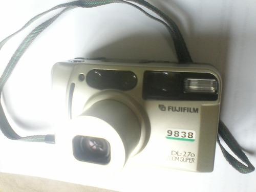 Camara De Fotos Fuji 35mm Dl270 Super Zoom Completa Original
