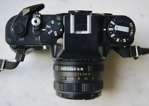 Maquina Fotos Zenit 122 35mm Flash