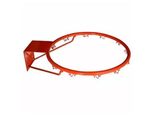 Aro De Basket Basquet Macizo Con Red Somos Fabricantes! Mira