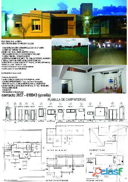 Vendo casa zona residencial Villa Mercedes, San Luis