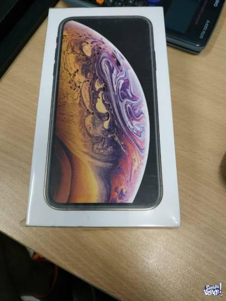 APPLE IPHONE XS 256GB GOLD PAGALO EN AHORA 12 CON TARJ!